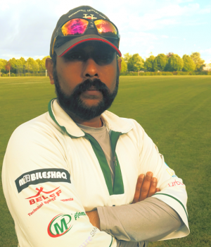 shazada aqeel-wicketkeeper and r h b